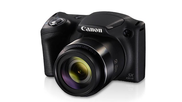 Canon PowerShot SX430 IS 20MP Digital Camera with 45x Optical Zoom