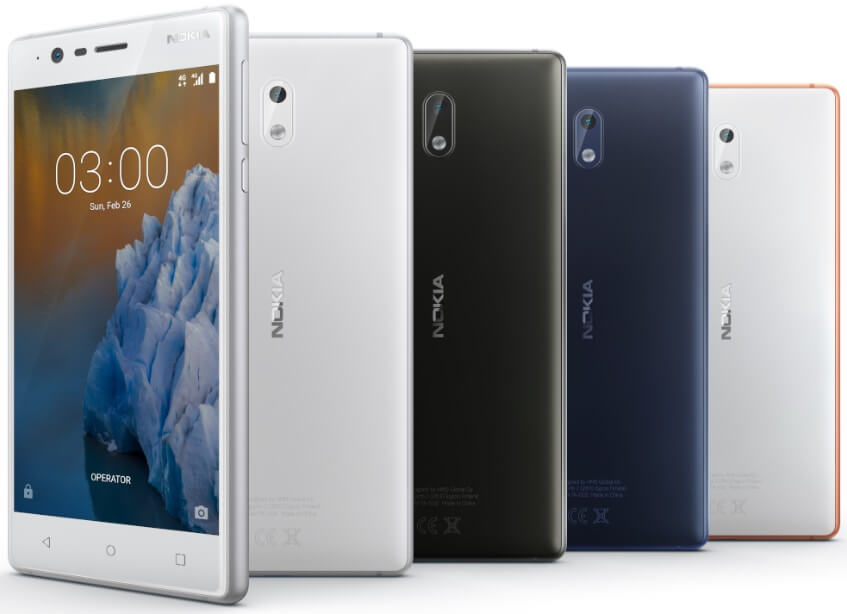Nokia 3 Unveils in the Philippines for Php6,990