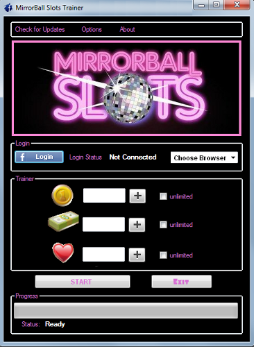 Mirrorball slots free gifts list