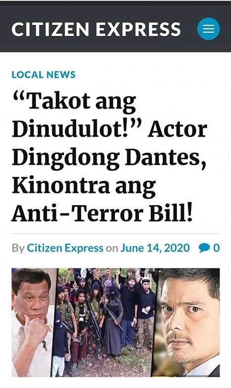 Former Air Force official to Dingdong Dantes