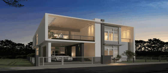 Construction for Villas