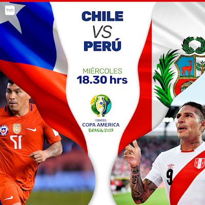 Chile vs Peru Live Copa America 4.7.2019