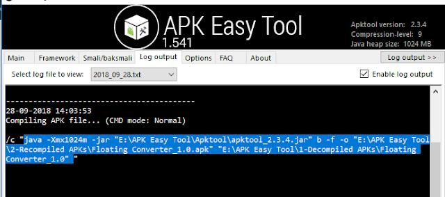 تحميل APK Easy Tool  وملفاته الضرورية