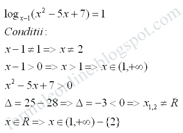 logarithmic equation examples with solutions