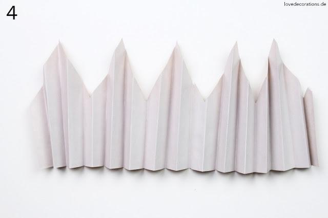 Tutorial Papiersterne falten