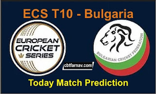 ECS T10 Match Prediction Tips Free Bulgaria League 100% Perefect