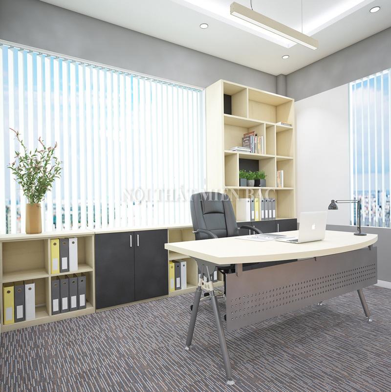 Thiết kế văn phòng làm việc sử dụng nội thất chất lượng