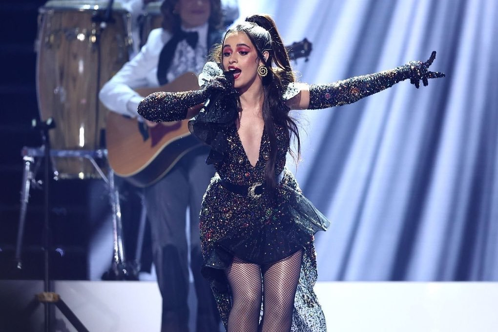 Camila Cabello opened the Latin Billboard Music awards with a spectacular performance