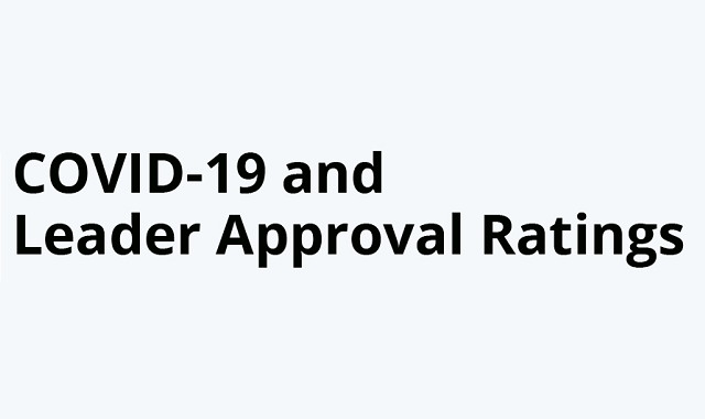 Leader approval ratings in the age of Covid-19