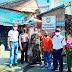 Babinsa, Bhabinkamtibmas dan Linmas Kelurahan Sondakan Pantau Pelaksanaan  PPKM di Pasar Tradisional Purwosari