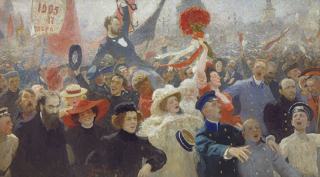 Demonstration of October 17, 1905 by Ilya Repin