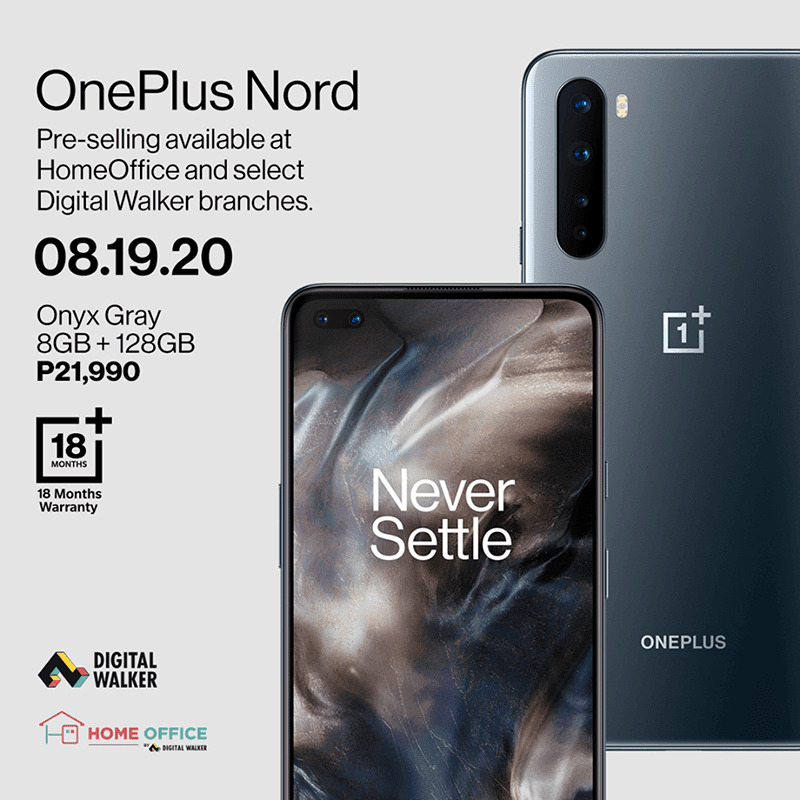 OnePlus Nord's PH pre-selling starts on August 19