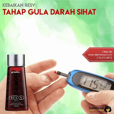 resv blood sugar, resv gula darah, resv glukosa, resv insulin
