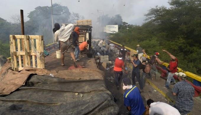 Al menos 285 heridos tras disturbios en principal frontera entre Colombia y Venezuela
