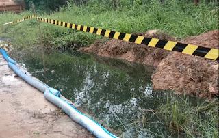 Medco E&P cepat tanggap tangani pipa bocor di desa Sukadamai