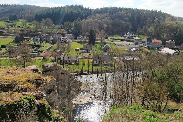 UNESCO Geopark Famenne Ardenne Hotton Rochers de Renissart