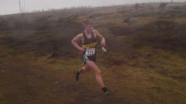 Howgill Harrier junior fell runner