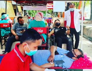 PD Parkir Makassar Raya Gelar Aksi Sosial Donor Darah