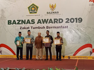 daftar penerima baznas award 2019
