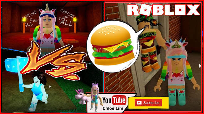 Roblox Flee the Facility Gameplay! Chocolate Vs Chloe for the BURGER!