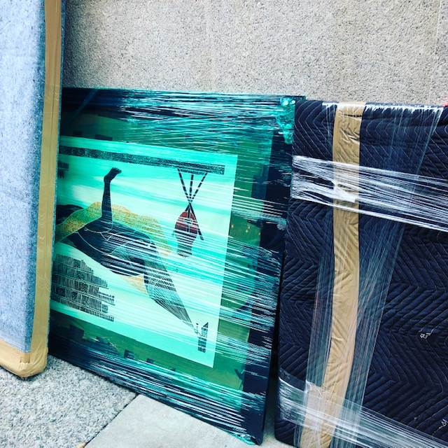 Picking Up Art from the Upper West Side of Manhattan, NYC