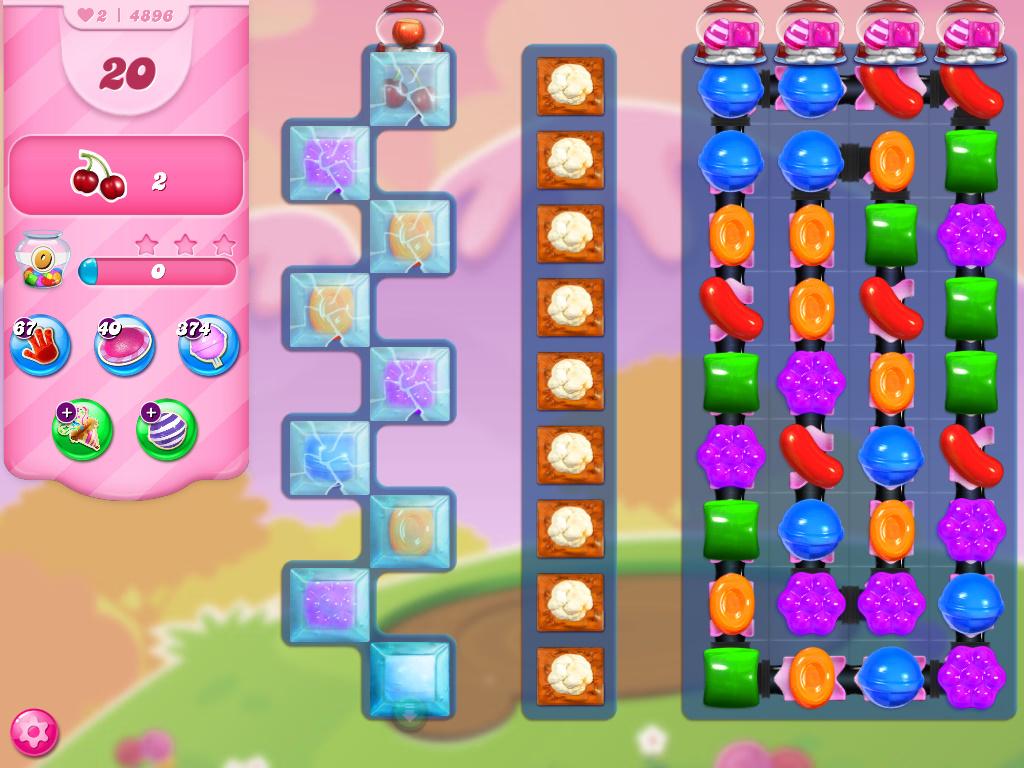 Candy Crush Saga level 4896