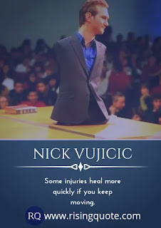 Best powerful quotes from Nick Vujicic