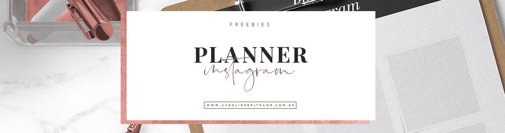 planner instagram
