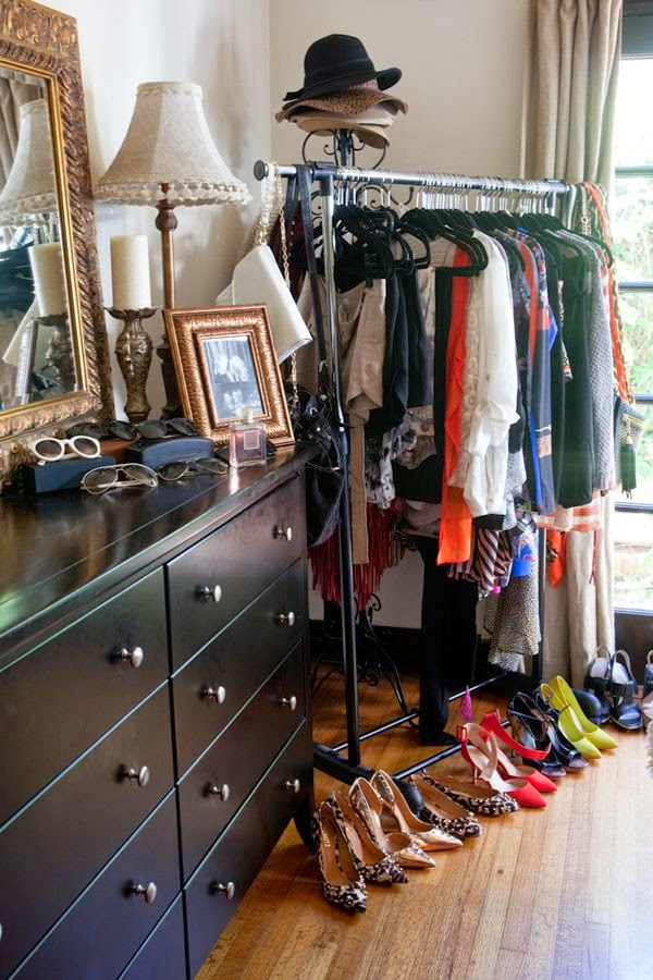My Apartment S Problem Area Built In Bedroom Clothes Rack
