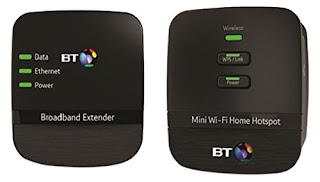 BT Mini Wi-Fi 500 Home Hotspot Powerline Adapter Kit £32.99 FREE Delivery UK AMAZON
