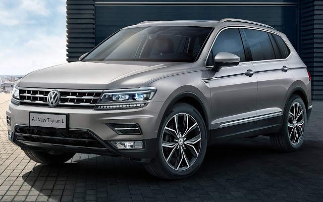 VW Tiguan AllSpace L - China