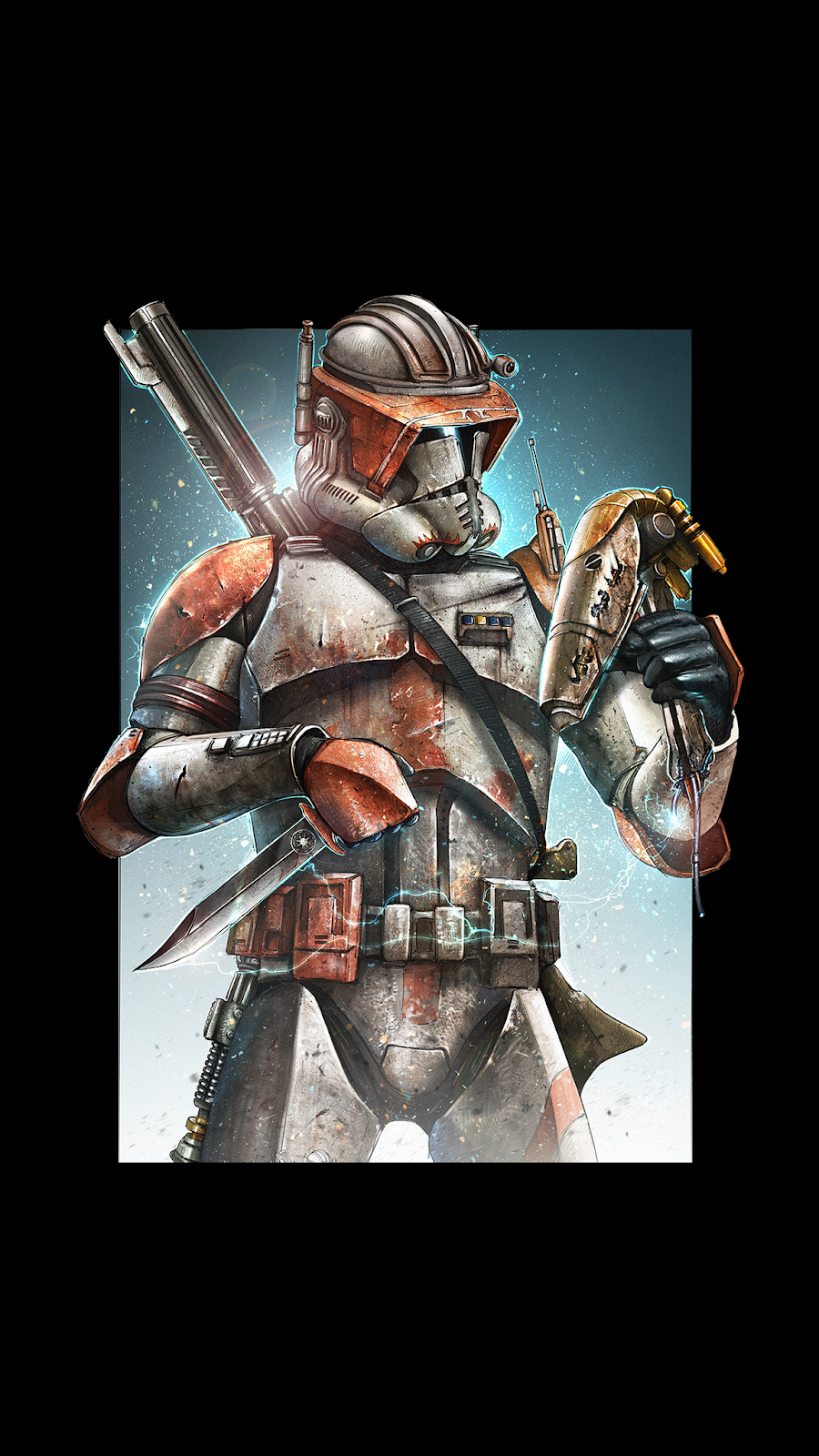 the mandalorian wallpaper art%2Bby%2BShane%2BMolina