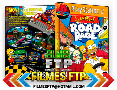 The Simpsons Road Rage PS2 - Filmes FTP