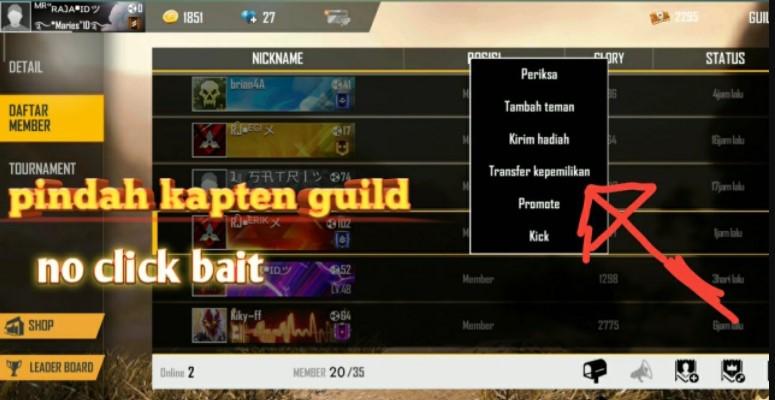 Kapten Guild FF