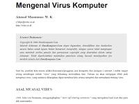 """Download Materi IT """"Mengenal Virus Komputer"""""""