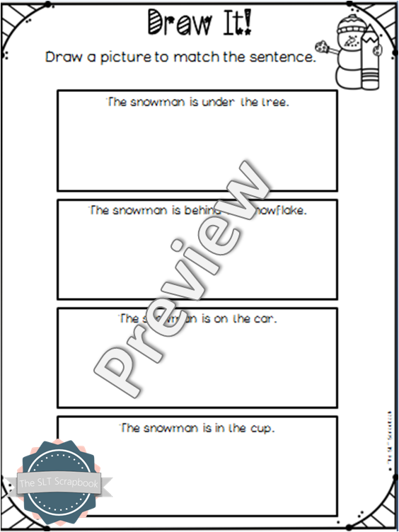 Where is the Snowman Interactive Book and Worksheets Pack The – Snowman Worksheets