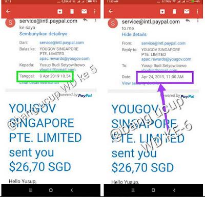 Cara dapat uang di Internet dengan Survei Yougov