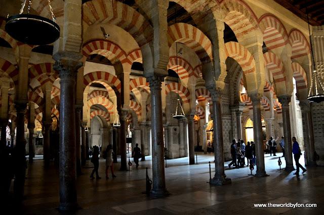 Mesquita de Córdoba, Córdoba, Espanha.