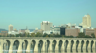 Susquehanna River Bridges - Harrisburg Pennsylvania