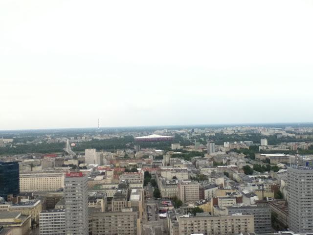 View of Warsaw's National Stadium