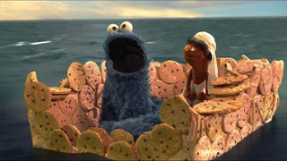 Cookie Monster uses strategies to help control his desire to eat a boat made of cookies. Sesame Street Cookie's Crumby Pictures The Life of Whoopie Pie.