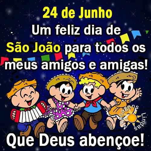 24 de Junho é Dia de São João