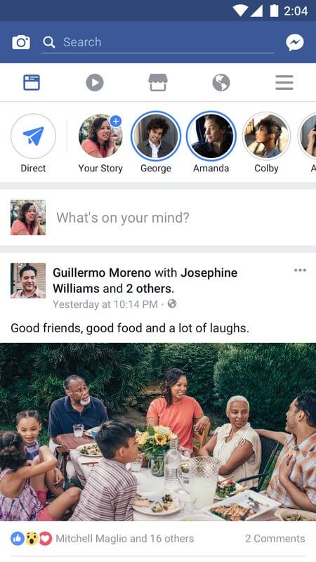 old download apk facebook messenger version b