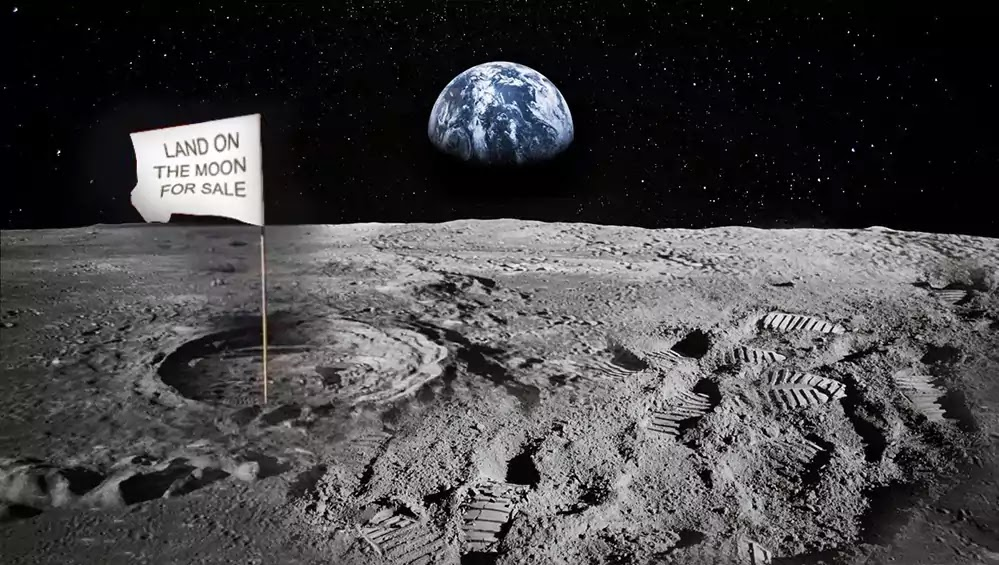 Land on the Moon for Sale, Buy Land on Moon