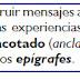 Imágenes y epígrafes