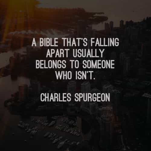 Inspirational quotes about the bible and its strength