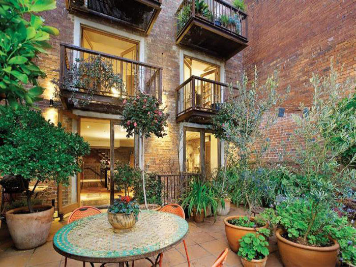 Mas patios rusticos interesantes ll interior design blogs - Patios rusticos ...