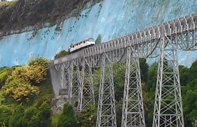 Miniatur Kereta Api Lembang Bandung
