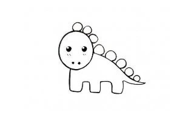 dibujos dinosaurios lapiz faciles