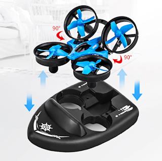 Spesifikasi Drone  JJRC H36F Terzetto - OmahDrones